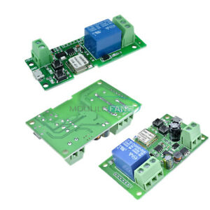 DC5V-DC5V-12V-APP-Control-Self-lock-Smart-WiFi-Wireless-Switch-Relay-Module