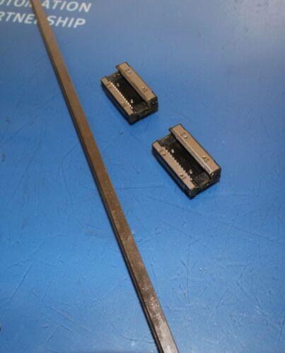 THK Linear Slide Bearing 82cm Long Rail with 2 of GSR15T Blocks