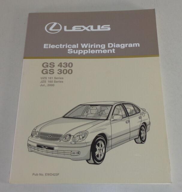 Workshop Manual Electrical Wiring Diagram Lexus GS430 ...
