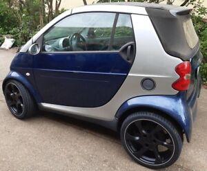 Lorinser-Speedy-Komplettradsatz-smart-fortwo-450-schwarz-mattschwarz-Satz