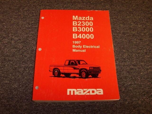 1997 Mazda B2300 B3000 B4000 Truck Body Electrical Wiring