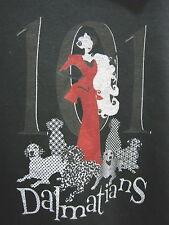 7b3da35b9c BLACK 101 DALMATIANS HOODIE SWEATSHIRT SMALL S CRUELLA DE VIL DISNEY WOMENS