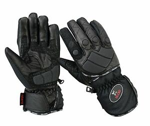 EVO-Professional-Leather-Motorbike-Motorcycle-Gloves-wind-water-Proof-Racing