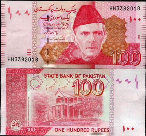 PAKISTAN 100 RUPEES 2013 P 57 UNC