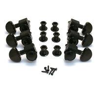 Grover Roto-grip Locking Rotomatics Guitar/tuner Machines, Black Chrome, 502bc on sale