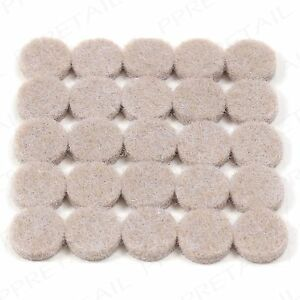 Image Is Loading SMALL ROUND ANTI SKID FELT PADS Round Furniture