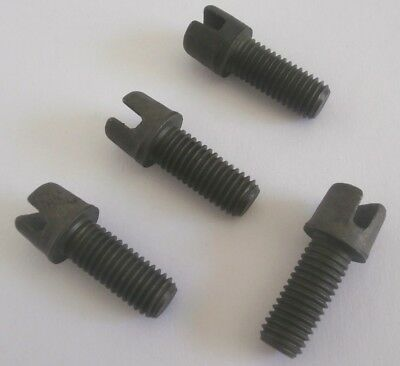 4 PC SET VW BUG GHIA BUS BRAKE STAR ADJUSTER SCREW /& NUT KIT