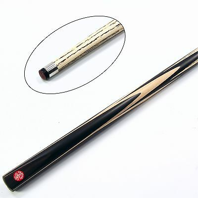 Funky Chalk Taylor Made Classic Solid Ebony and Ash Hand Spliced Snooker Cue /& Mini Ext