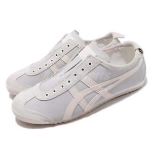 hot sales 038cb b05b7 Details about Asics Onitsuka Tiger Mexico 66 Slip On Cream Oatmeal Men  Women Shoe 1183A042-100