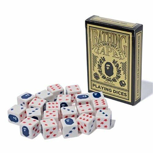 A BATHING APE APE APE Playing Dices Not Sold in Stores  10261 49c463