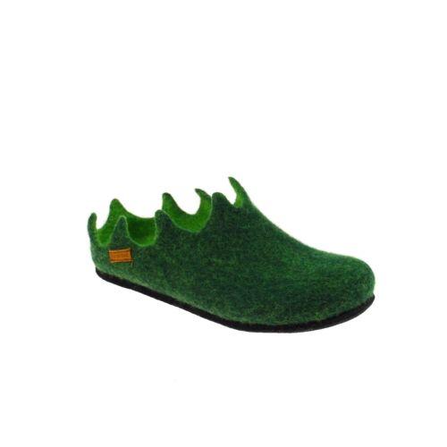 basse da verde donna Stegmann Scarpette in feltro dUzvdwx