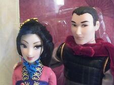 MULAN & LI SHANG Poupée Edition Limitée Disney FAIRYTALE Collection Doll set