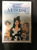 Tea With Mussolini (1999 Dvd)/cher/judi Dench/full & Widescreen/sealed