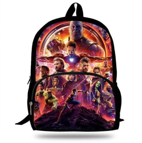 Backpack for School Boys Bookbag Infinity War Children and Teengers Travel Bag