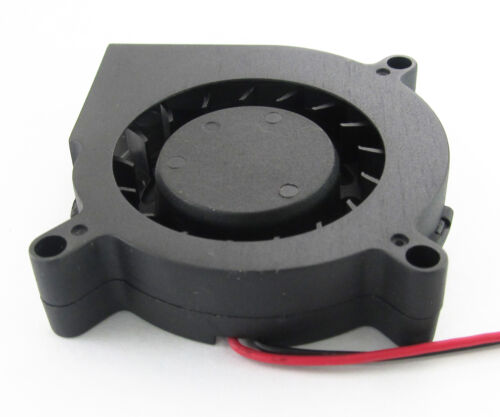 1pc 60mm 6015 60x60x15mm 5V 12V 24V 2pin//2wire Brushless DC Cooling Blower Fan