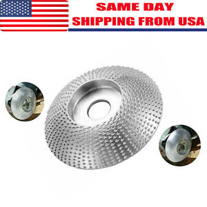 Carbide Grinding Wheel Wood Sanding Carving Shaping Disc for Angle Grinder USA