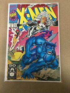 X-Men-1-Beast-amp-Storm-Cover-1991-Jim-Lee