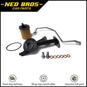 Kit-de-montaje-de-turbo-aceite-tuberia-de-alimentacion-Colador-Banjo-Perno-PEUGEOT-CITROEN-90bhp-1-6