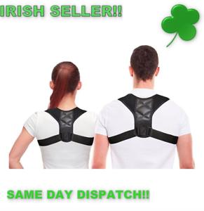 Posture-Corrector-Clavicle-Support-Back-Brace-Shoulder-Belt-yoga-IRISH-STOCK
