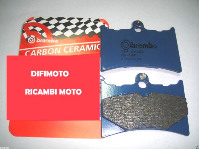 Front Brake Pads BREMBO Blue 07GR5605 Carbon Ceramic Gilera MX1 125 1988