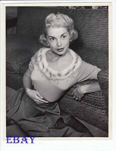 Janet Leigh busty tight sweater VINTAGE Photo   eBay