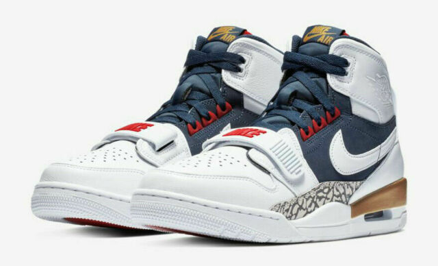 nativo Regan Beca  Nike Air Jordan Legacy 312 Olympics Av3922 101 White Midnight Navy Size 13  for sale online | eBay