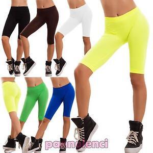 La imagen se está cargando Mujer-pantalones-cortos-shorts-calzas-deporte- leggings-fitness- ed40e41b4bb5