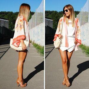 NEW-Vintage-Retro-Womens-Boho-Hippie-Loose-Style-Kimono-Coat-Cape-Blazer-Jacket