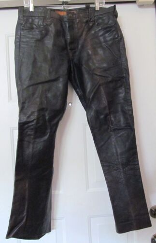 VTG EAST WEST MUSICAL INSTRUMENTS Leather Jeans Pa
