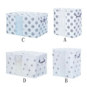 Foldable-Storage-Bag-Clothes-Blankets-Quilt-Closet-Sweater-Container-Box-Pouches