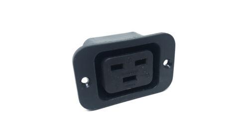 240VAC 16A Female Wiring Socket IEC C-19 Input Outlet AC250V