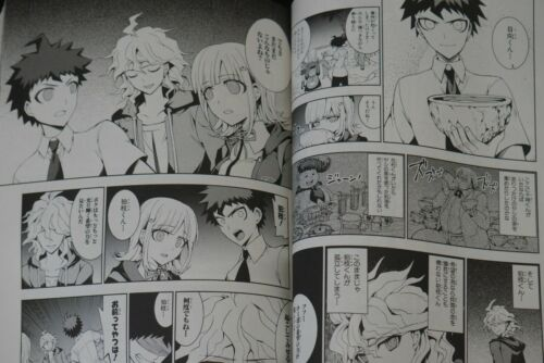JAPAN manga LOT Danganronpa 2 Nanami Chiaki no Sayonara Zetsubou Daibouken 1~3