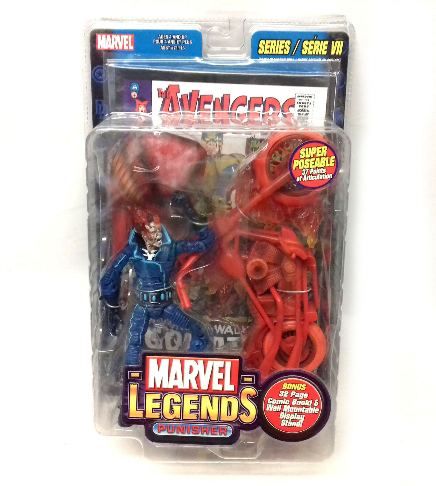 Marvel Legends GHOST RIDER Transforming Chase 6