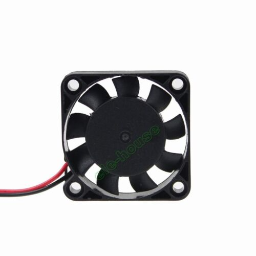 2pcs 24V 2Pin 40mmx40mmx10mm 4010s Brushless DC Cooling Fan 9 Blades DC Cool Fan
