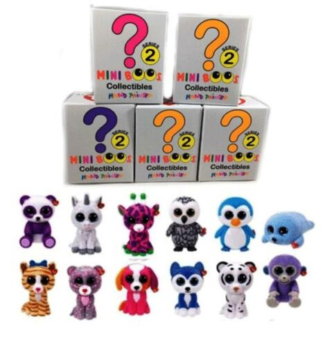 Ty Mini Boos Series 2 Mini Figures Sealed Blind Boxes Hand Painted Toys