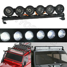 6Led Light Mirthobby RC Car Roof Lights,RC Body Shell Light Bar with Square Light Cover for Traxxas TRX-4 SCX10 90027 90046 RC4WD D90 1//10 RC Rock Crawler Car