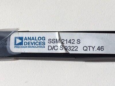 3x PMI//ANALOG SSM2142S IC SP AMP LINE DRIVER AMP SINGLE ±18V 16-PIN SOIC-16