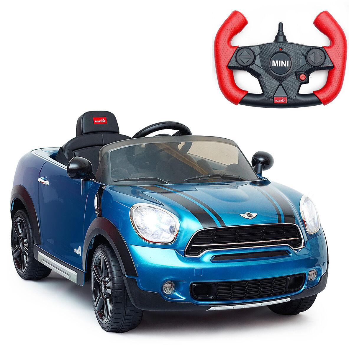 12v elektro - mini countryman zugelassene kinder auto remote controller blau