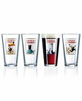 Luminarc Guinness 16-ounce Assorted Pub Glasses 4 Count , New, Free Shipping on sale