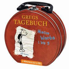 Gregs Tagebuch Mein Hörbuch-Koffer 3xCD,s 225 Min Neu+in Folie