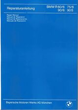 Istruzioni Riparazione/istruzioni BMW R 90 60 75/6; r90 r75 r60, r90s NUOVO