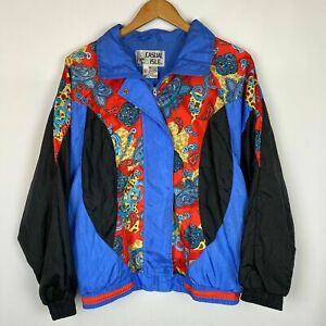 Vintage-Retro-Windbreaker-Casual-Isle-Women-s-Track-Jacket-Bright-Colorful