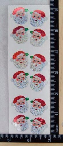 Sandylion SANTA HEADS Stickers CHRISTMAS NEW