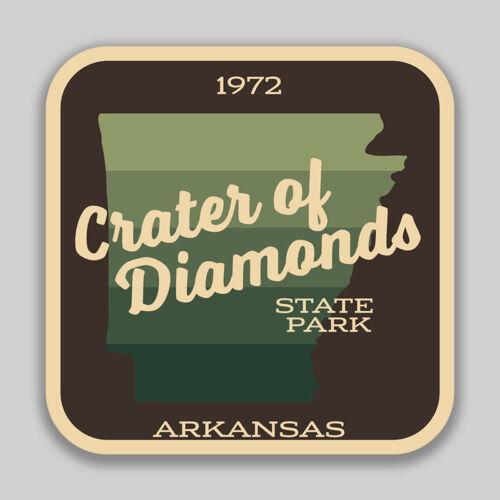 Crater Of Diamonds State Park Decal Sticker Explore Wanderlust Camping Arkansas