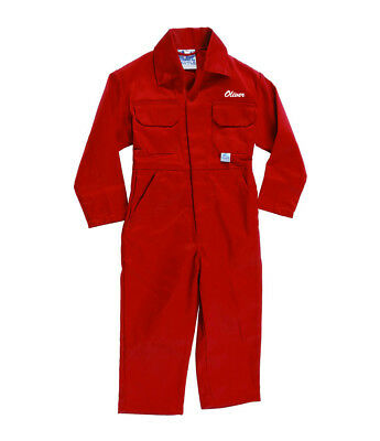 Personalised Little Farmer Boiler Suit//Kids Coveralls.Free name on front