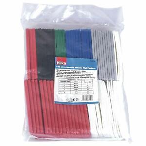 PLASTIC PACKERS SPACERS WEDGES BUILDERS 1 - 6mm 100 pack GLAZING / FLOORING