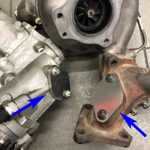 AGR Verschlussplatte für Mercedes E GL GLK ML V6 3.0 280 300 320 350 CDI 122
