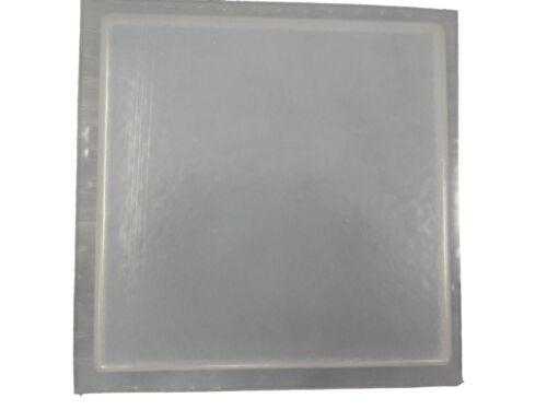 6 inch Plain Square Tile Trim Plaster Concrete Mold Set of 2 6040 Moldcreations