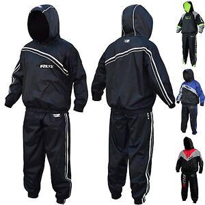 RDX-Fitness-Capuche-Combinaison-Sudation-Survetement-Sauna-Suit-Perte-De-Poids
