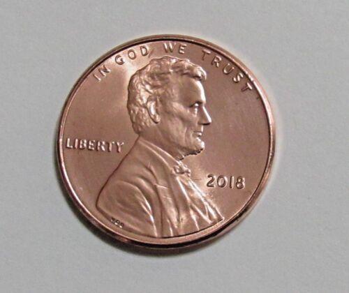 2018 1C Lincoln Shield Cent